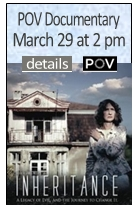 POV Documentary, March 29 at 2 pm, details